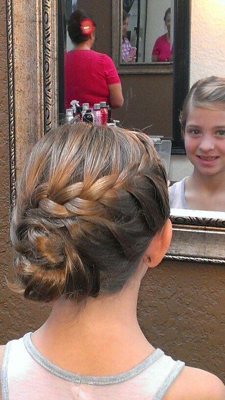 Peinados De Niñas Con Trenzas Recogidas (1)