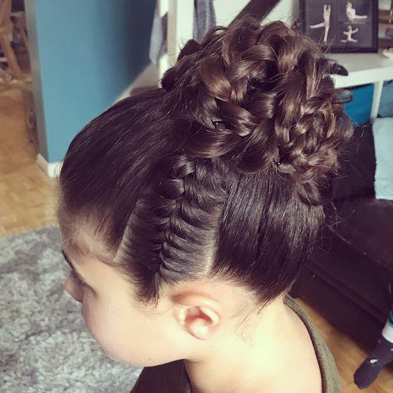 Peinados De Niñas Con Trenzas Recogidas (3)