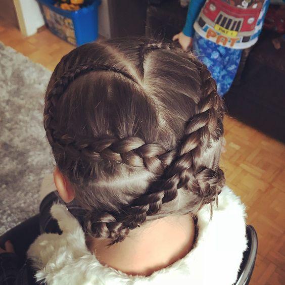 Peinados De Niñas Con Trenzas Recogidas (5)