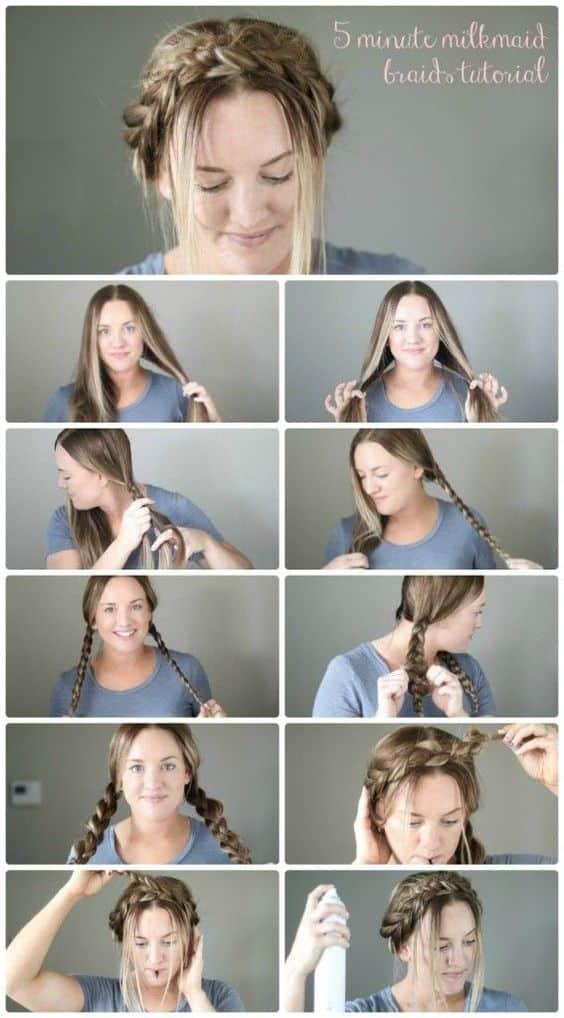 Peinados Paso A Paso Recogidos Con Trenzas (1)
