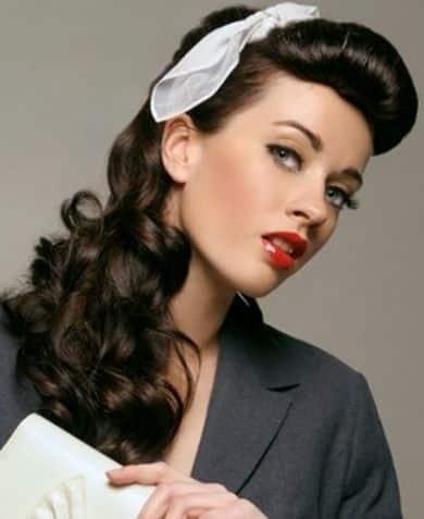 Peinados Pin Up Diferentes Estilos Y Formas Modernas De Llevarlos