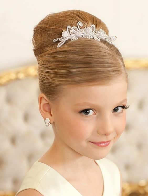 Peinados De Primera Comuni 243 N Que Reflejan La Inocencia Y