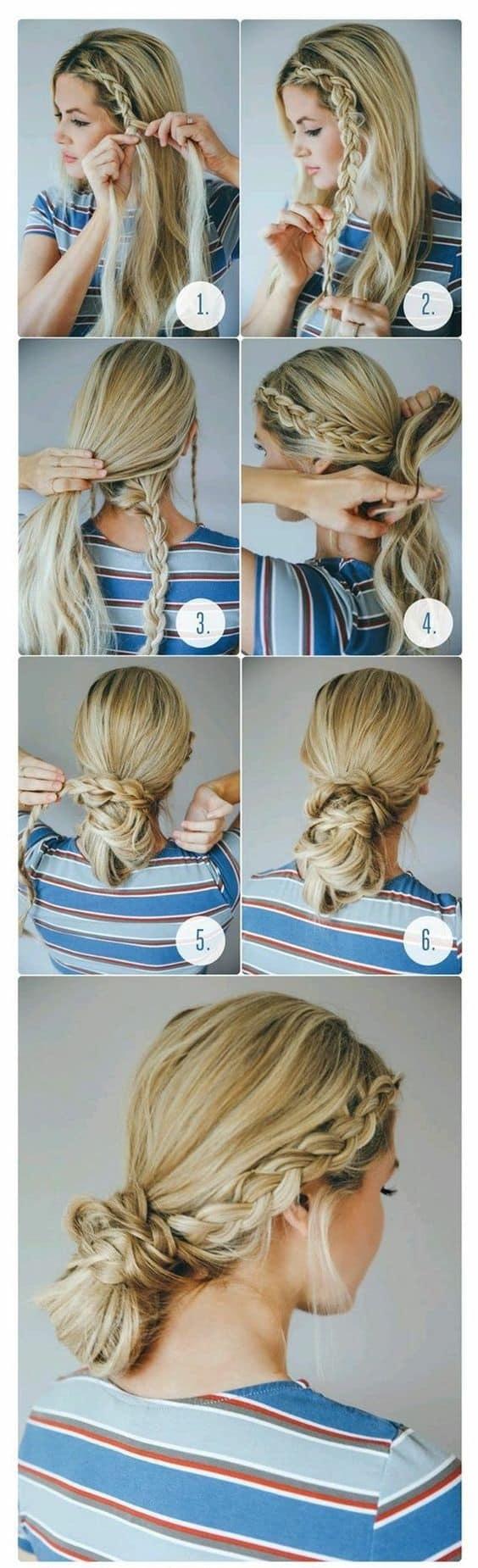Peinados Recogidos Con Trenzas Faciles Y Sencillos (3)