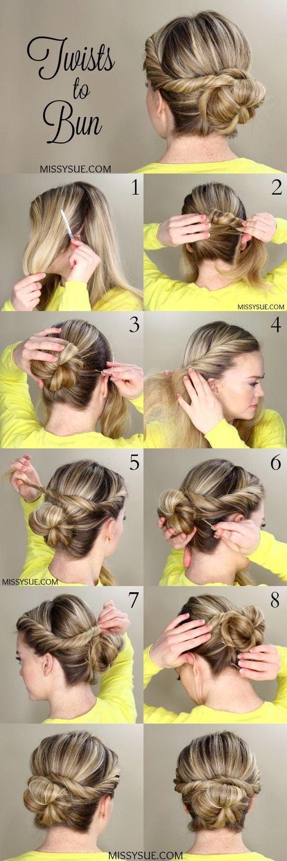 Peinados Recogidos Con Trenzas Faciles Y Sencillos (4)