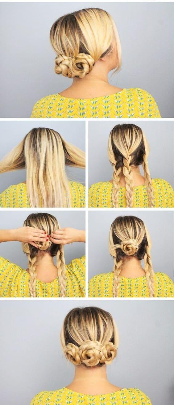 Peinados Recogidos Faciles Paso A Paso (4)