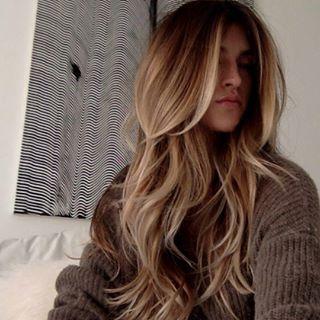 Cortes de pelo largo femenino