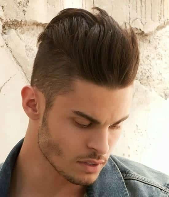 3. Peinados Para Cabello Lacio De Hombre