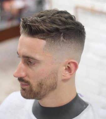 3. Peinados Para Hombres Con Entradas