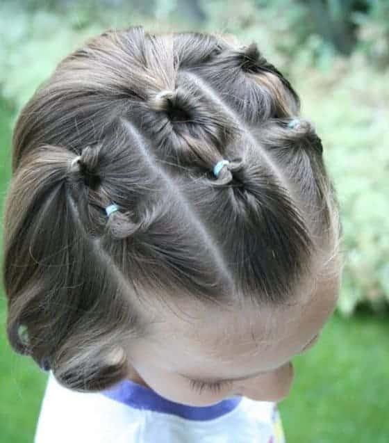 Peinados Para Niñas Con Cabello Corto 1
