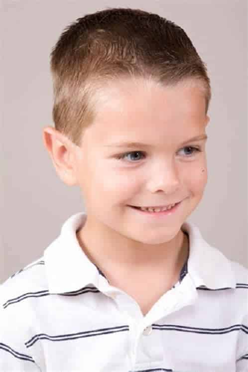 Peinados Para Niños Cabello Corto 0