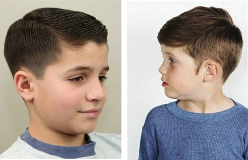 Peinados Para Niños Cabello Corto 1
