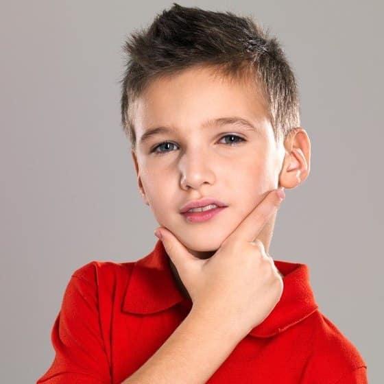 Peinados Para Niños Cabello Corto 4