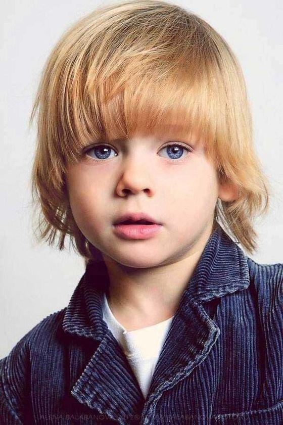 Peinados Para Niños Cabello Lacio 0