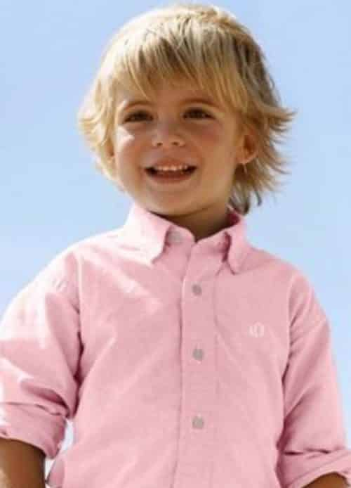 Peinados Para Niños Cabello Largo 1