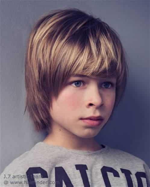 Peinados Para Niños Cabello Largo 7