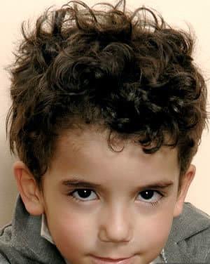 Peinados Para Niños Cabello Rizado 2