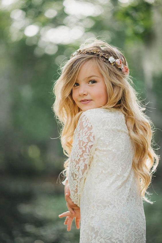 Damas De Honor Peinados Para Niñas (2)