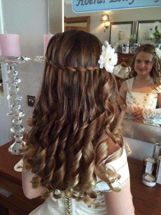 Damas De Honor Peinados Para Niñas (3)