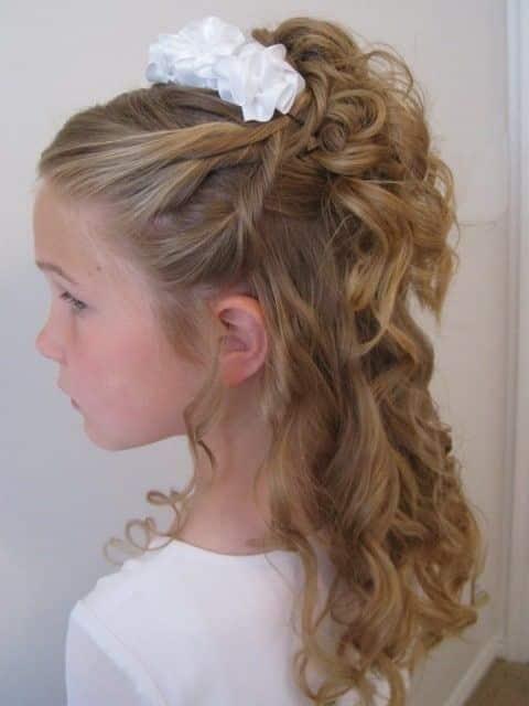 Damas De Honor Peinados Para Niñas (4)