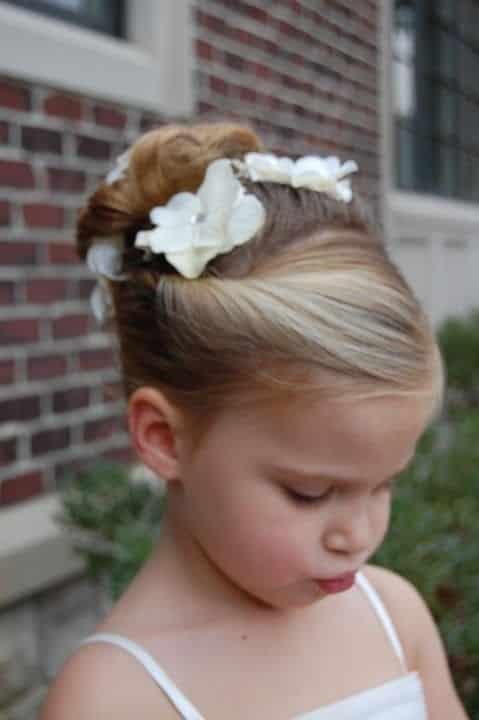 Damas De Honor Peinados Para Niñas (6)
