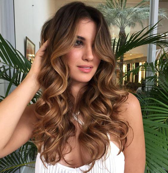 Peinados De Dama De Honor Cabello Suelto (4)