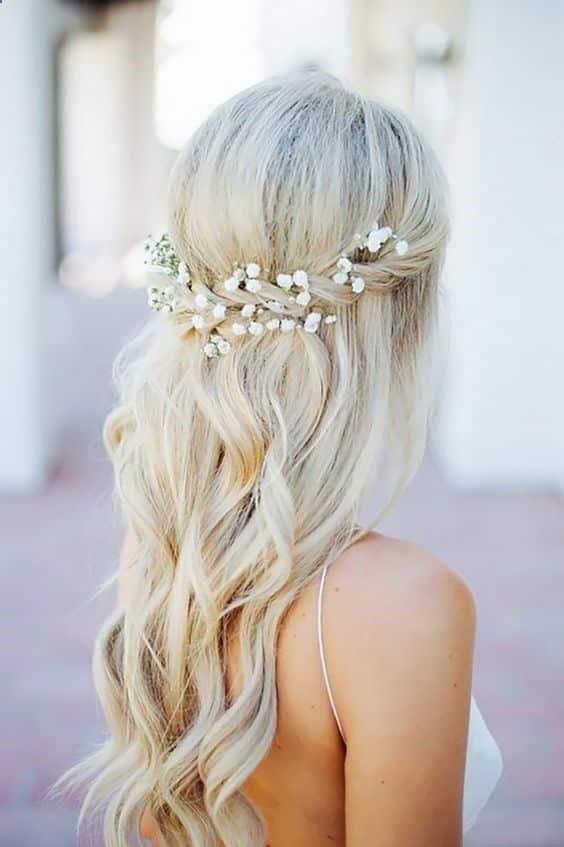 Peinados Novia Cabello Largo (1)