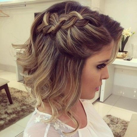 Peinados Para Damas De Honor Cabello Corto (1)