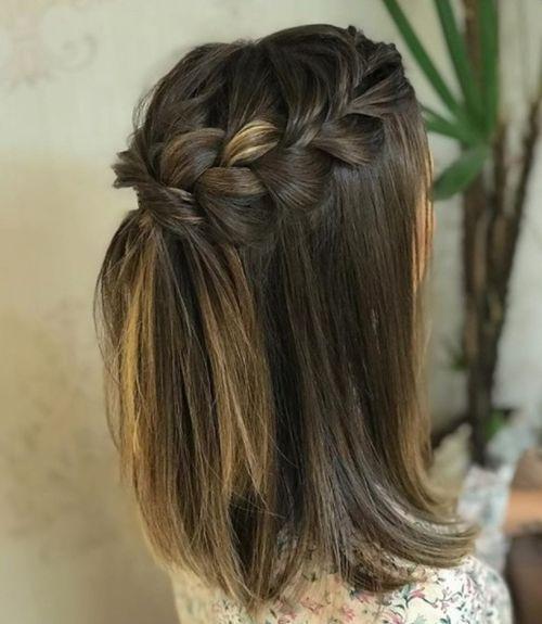 Peinados Para Damas De Honor Cabello Corto (3)