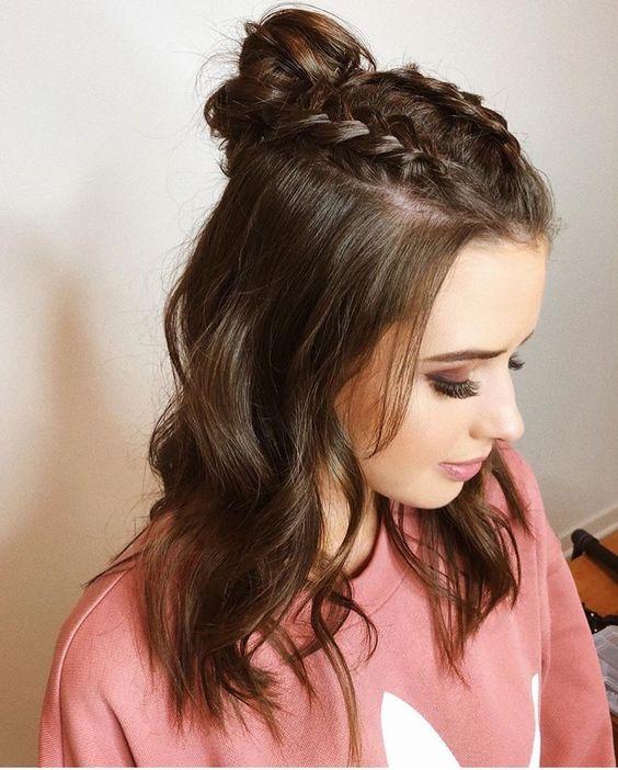 Peinados Para El Colegio Cabello Corto (1)