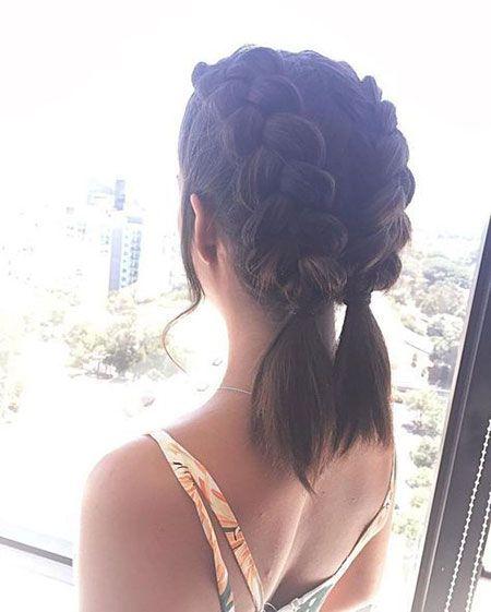 Peinados Para El Colegio Cabello Corto (3)