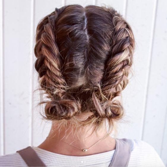Peinados Para El Colegio Cabello Corto (4)