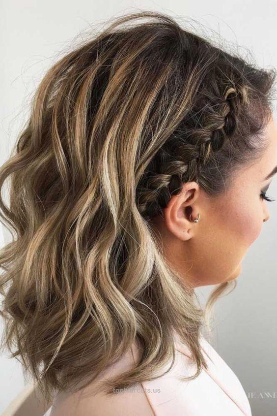 Peinados para adolescentes cabello corto