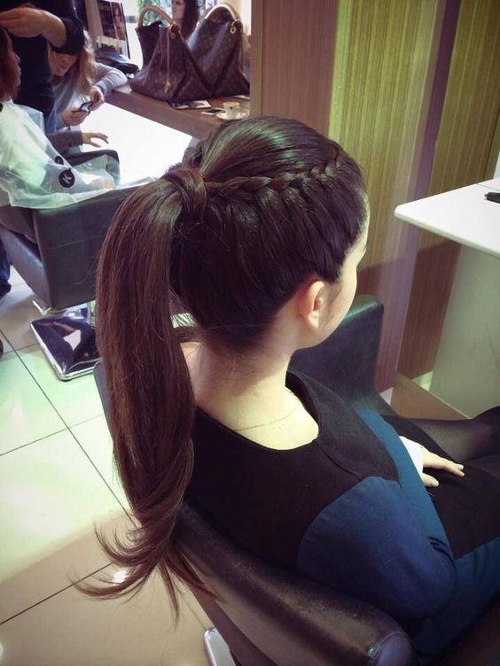 Peinados Para El Colegio Con Cola (5)